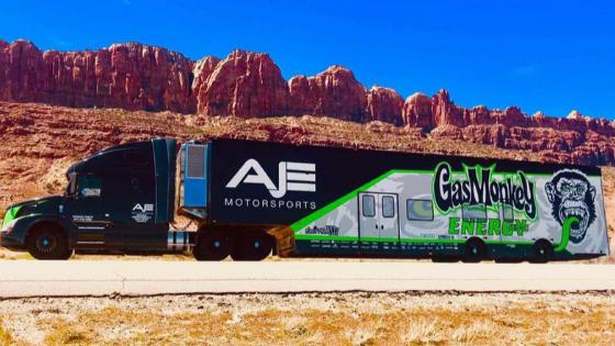 AJE Motorsports Sponsorship