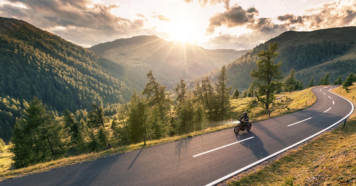 Mountains Lone Rider