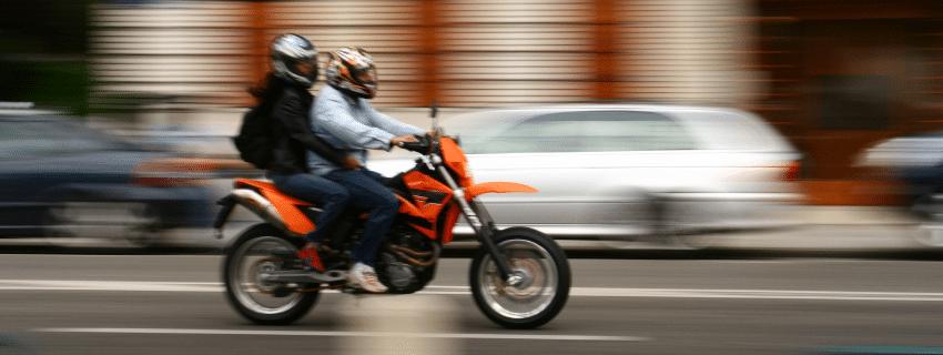 2 People riding bike