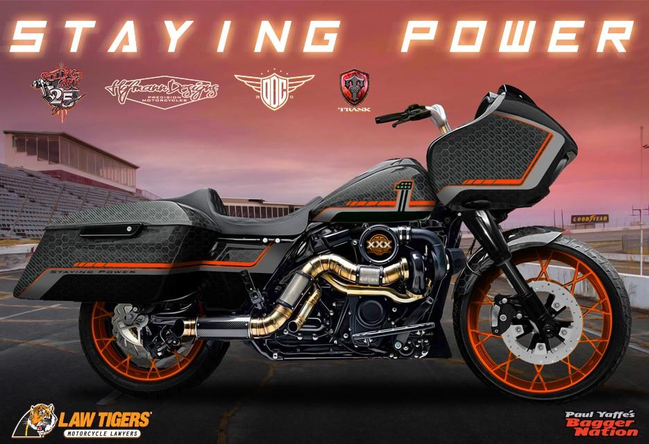 PAUL YAFFE CUSTOM MOTORCYCLE